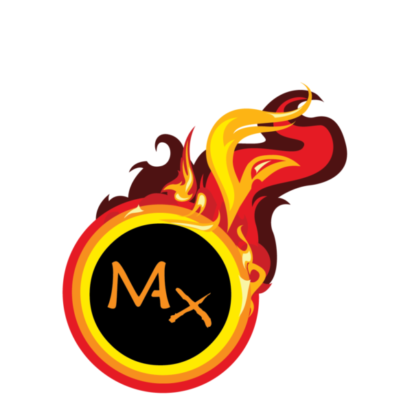 Max's Degrees Burn Logo